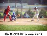 baseball blur background   Shutterstock . vector #261131171