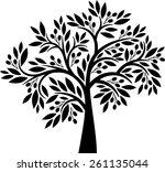 olive tree | Shutterstock .eps vector #261135044