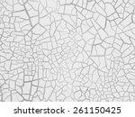 cracked texture | Shutterstock . vector #261150425