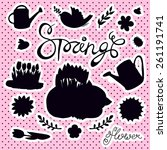 Set Of Spring Elements And...