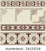 vintage | Shutterstock .eps vector #26123218
