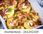 Potatoes Baked With Bacon ...