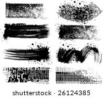 8 grunge brushes line | Shutterstock .eps vector #26124385