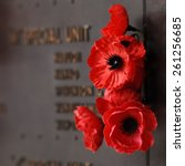 Red Poppy To Honour Veterans I...