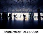 station hall  | Shutterstock . vector #261270605
