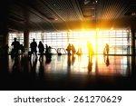 station hall  | Shutterstock . vector #261270629