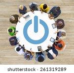start up plan strategy business ... | Shutterstock . vector #261319289