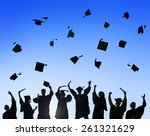 celebration education... | Shutterstock . vector #261321629