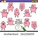 cartoon vector illustration of... | Shutterstock .eps vector #261326054