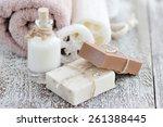 Handmade Soap With Oatmeal ...