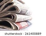 abudance  advertise ... | Shutterstock . vector #261400889