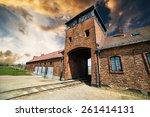 Main Entrance To Auschwitz...
