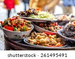 chinese food | Shutterstock . vector #261495491