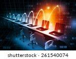 global computer network     Shutterstock . vector #261540074