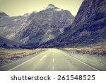 new zealand  fiordland. the... | Shutterstock . vector #261548525
