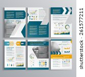 dynamic brochure template... | Shutterstock .eps vector #261577211