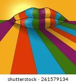 fantasy vector illustration.... | Shutterstock .eps vector #261579134