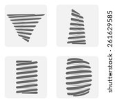 monochrome icon set with springs | Shutterstock .eps vector #261629585