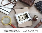 vintage photos retro style | Shutterstock . vector #261664574
