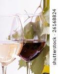 wine in glass   Shutterstock . vector #26168824