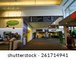 queenstown  nz   mar.15 airport ...   Shutterstock . vector #261714941