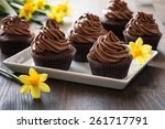 delicious mothers day ... | Shutterstock . vector #261717791