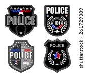 police logos | Shutterstock .eps vector #261729389
