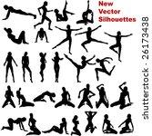 silhouette  no vector version | Shutterstock . vector #26173438