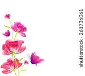 butterflies design | Shutterstock .eps vector #261736061