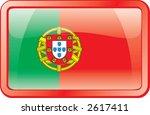 portugal flag icon | Shutterstock .eps vector #2617411