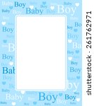 1528 clip art baby boy borders | Public domain vectors