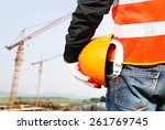 construction safety concept ... | Shutterstock . vector #261769745
