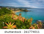 View Of The Pacific Coast From...