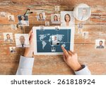 business  people  international ...   Shutterstock . vector #261818924