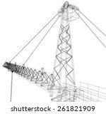 Tower Construction Crane....