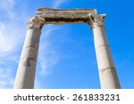 Two Columns And Portico...