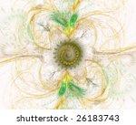 3d rendered fractal for... | Shutterstock . vector #26183743