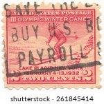 united states   circa 1932  a...   Shutterstock . vector #261845414