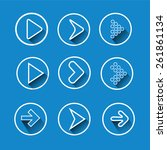 set arrow icons