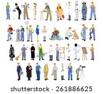 vector illustration of a... | Shutterstock .eps vector #261886625