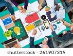 branding brand trademark... | Shutterstock . vector #261907319