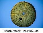 parachute  | Shutterstock . vector #261907835