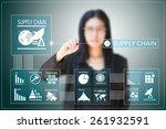 business woman  | Shutterstock . vector #261932591