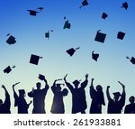 celebration education... | Shutterstock . vector #261933881