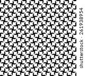 stylized vector texture.... | Shutterstock .eps vector #261938954