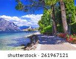 scenery of northen itlay  ...   Shutterstock . vector #261967121
