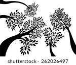 forest | Shutterstock .eps vector #262026497