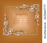 jeweler decoration. scope ... | Shutterstock .eps vector #262064777