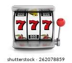 Slot Machine With Three Seven'...
