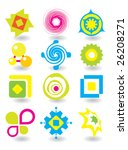 set of elements for design | Shutterstock .eps vector #26208271